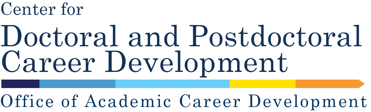 Center for Doctoral and Postdoctoral Career Development logo